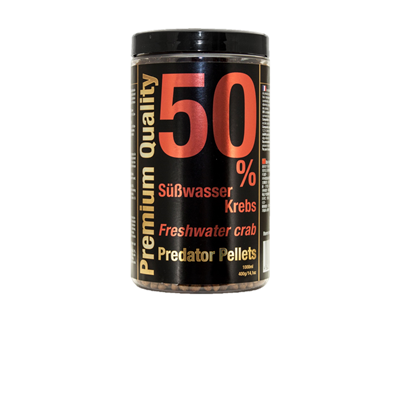 Freshwater Crab 50% Predator Pellets, 1000ml