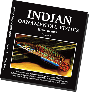 Indian Ornamental Fishes by Heiko Bleher