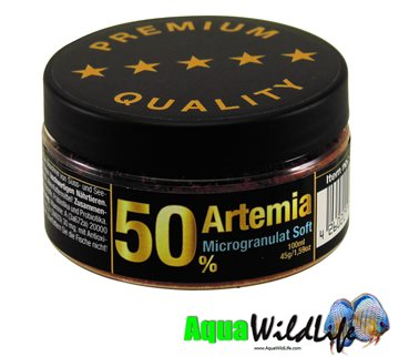 Artemia 50% Microgranulate Soft
