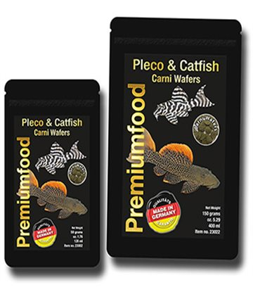 Pleco & Catfish Carni Wafers, 50gr